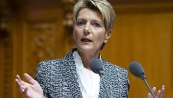 Fordert die EU in der Migrations- und Flüchtlingsfrage zum Handeln auf: Die Schweizer Justizministerin Karin Keller-Sutter.