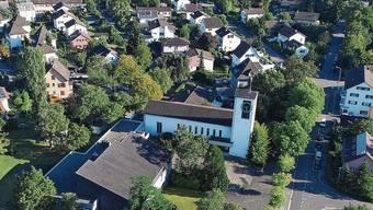 Nur die Kirche würde stehen bleiben, rundherum soll abgebrochen werden.