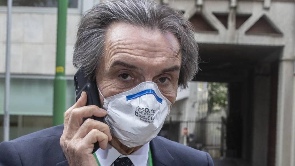 Ermittlungen gegen Lombardei-Präsidenten wegen Schutzkittel-Deals