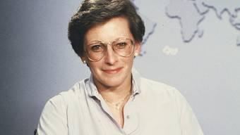 Marie Therese Guggisberg war die erste Tagesschau-Moderatorin.