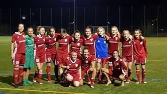 Die SC Derendingen Frauen freuen sich über den Viertelfinaleinzug.