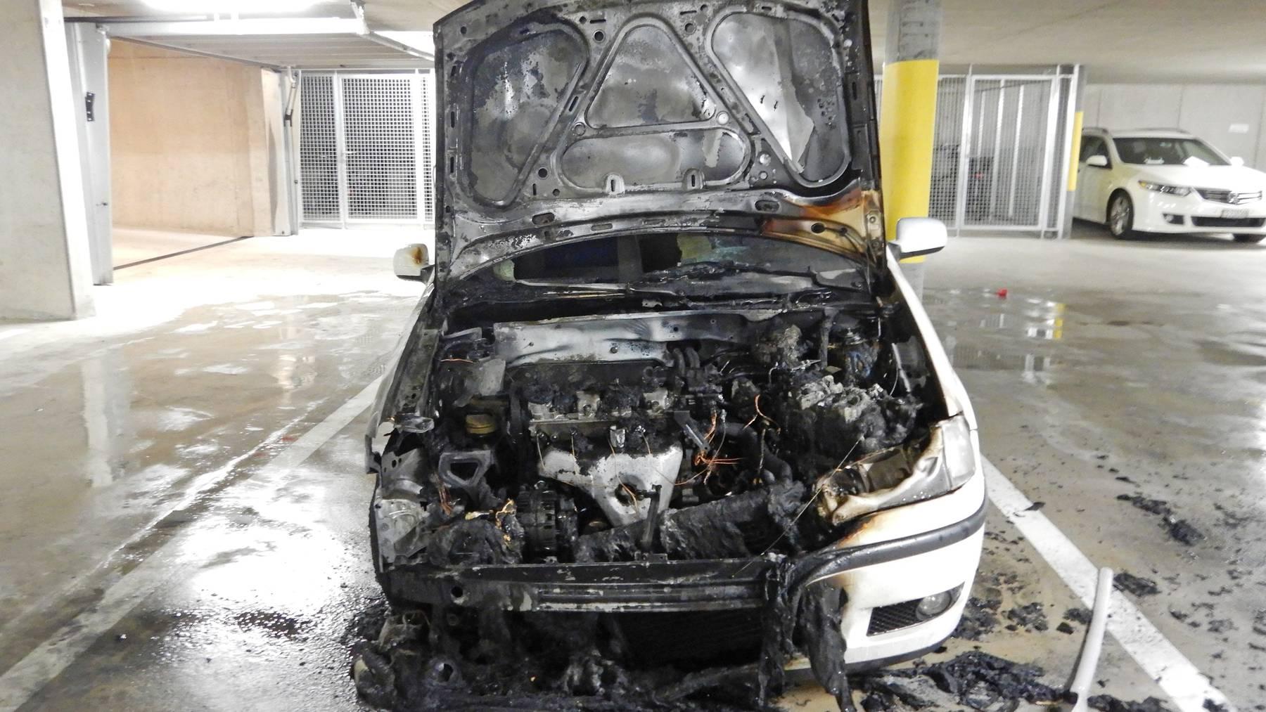 Beim Brand wurden keine Menschen verletzt.
