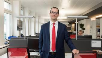 Avectris-CEO Thomas Wettstein: «2017/18 war bisher das herausforderndste Geschäftsjahr in unserer Geschichte.»