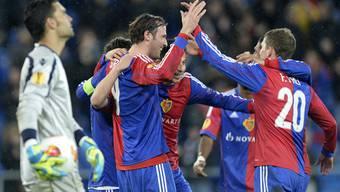FC Basel spielt im St. Jakobpark gegen Maccabi Tel Aviv