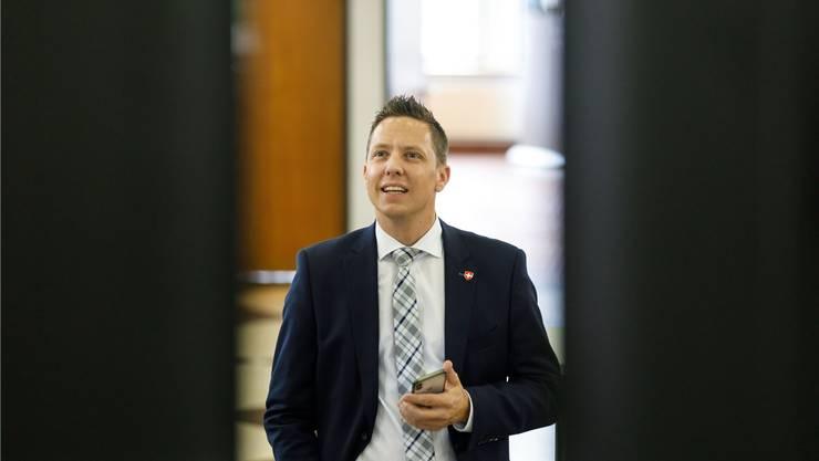 Christian Imark (SVP) wird im zweiten Wahlgang vom Gewerbeverband unterstützt.