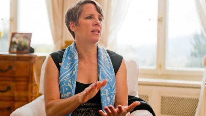 Die ehemalige Microsoft-Managerin Suzi LeVine war im Wahlkampf für Barack Obama aktiv. Sie lebt in der Botschaftsresidenz in Bern mit ihrem Mann und ihren zwei Kindern. Foto: Emanuel Freudiger