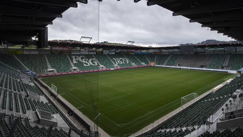 FCSG spielt am 20. Juni erstes Super-League-Geisterspiel