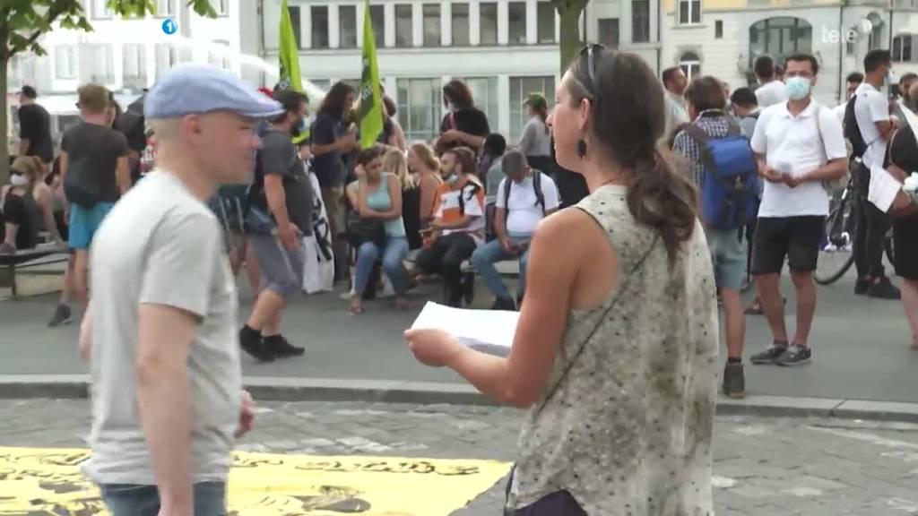 Demo Asylbereich