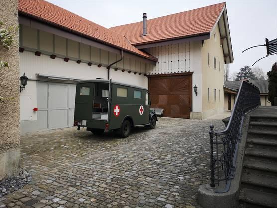 Das «Stämpflihaus» wurde 1853 gebaut. Es ist jetzt stilgerecht renoviert und für die Bedürfnisse des Militärmuseums umgebaut worden.