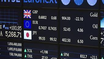 US-Börsen schliessen schwächer