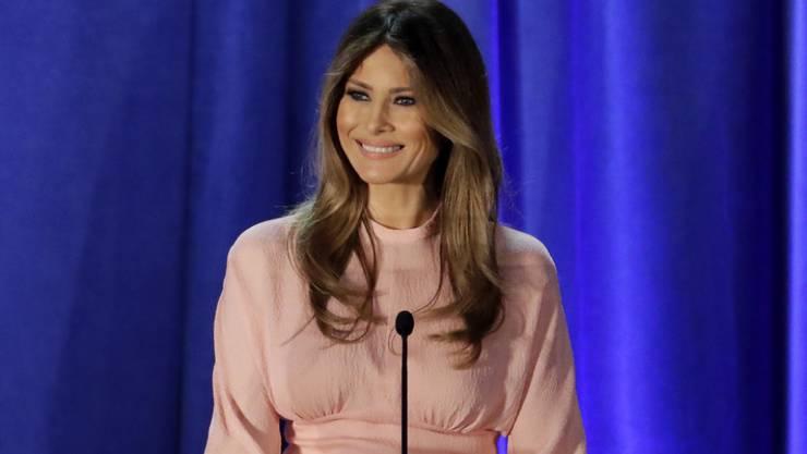 Von der Obama-Designerin boykottiert: Die künftige US-First Lady Melania Trump muss für die sexistischen und rassistischen Sprüche ihres Ehemannes büssen. (Archivbild)