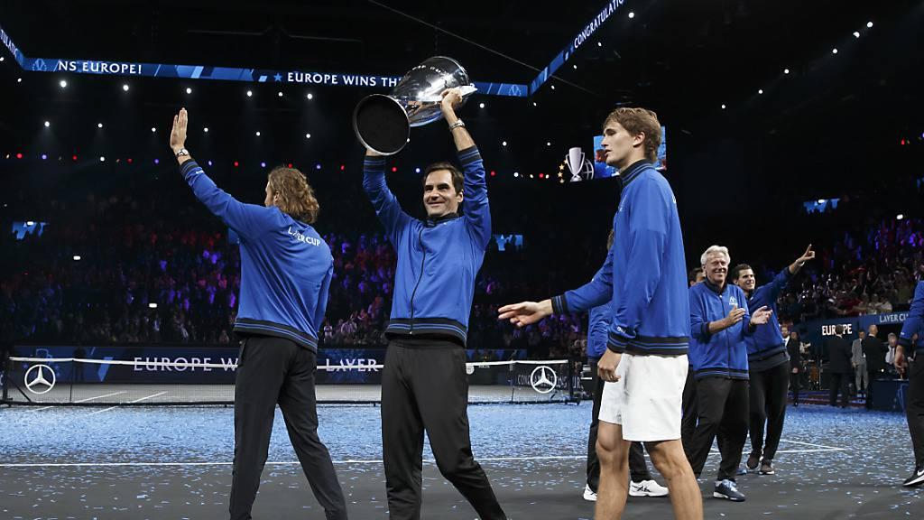 Der von ihm selber ins Leben gerufene Laver Cup, der erstmals in der Schweiz Station machte