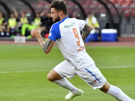 Brachte die Grasshoppers mit dem 1:0 gegen Lugano auf Kurs: Marco Djuricin