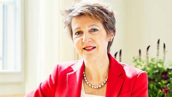 SP-Bundesrätin Simonetta Sommaruga sieht die Klimajugend in der Tradition der Alpeninitiative.