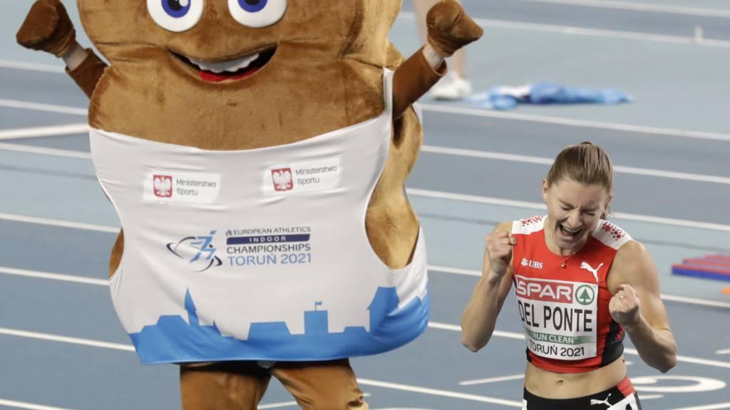 Sieg, Jahres-Weltbestleistung und Schweizer Rekord in 7,03 Sekunden
