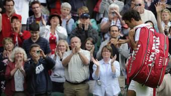 Roger Federer scheitert in Wimbledon bereits in der zweiten Runde