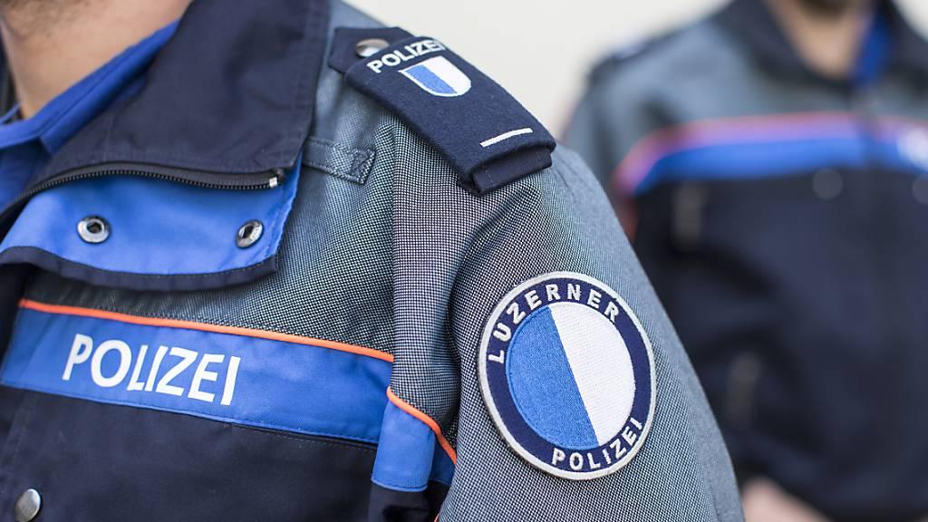 Die Luzerner Polizei hat in Reiden einen mutmasslichen Taschendieb festgenommen. (Archivbild)
