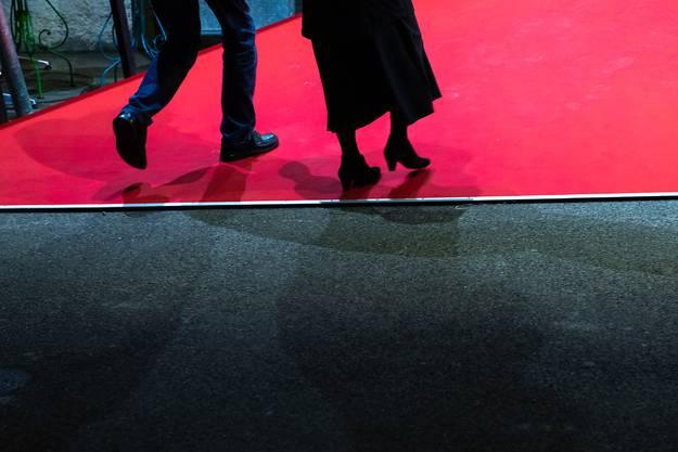 Der rote Teppich ist ausgerollt für die «Projection Spéciale».