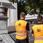 Der Sicherheitsdienst ist vor allem auf dem Areal um die Stadtkirche, den Klosterplatz, die Winkelunterführung sowie den Ländiweg im Einsatz.
