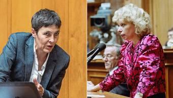 Barbara Gysi und Christiane Brunner