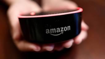 War im Weihnachtsgeschäft der bestverkaufte Artikel weltweit beim Online-Versandhändler Amazon: der Mini-Lautsprecher Echo Dot. (Archivbild)