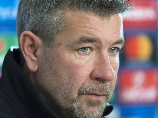 Trainer Urs Fischer hat das erste Saisonziel mit dem FC Basel verpasst