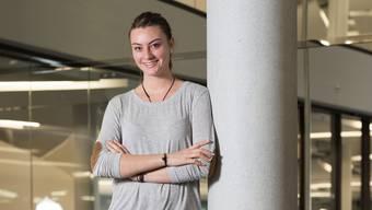 Joya Kirchhofer (20) setzt sich für Jugendpolitik ein und will die Welt verbessern