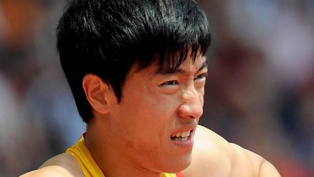 Für Liu Xiang sind die Wettkämpfe schon nach dem Vorlauf vorbei