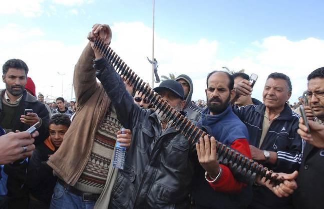 Benghazi ist nun in den Händen der Opposition