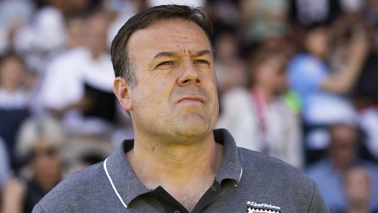 Der FC Aarau verlängert den Vertrag mit Cheftrainer Patrick Rahmen.