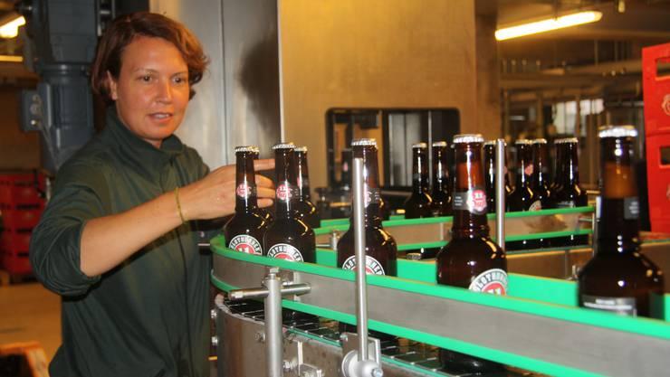 Die neue «Öufi»-Brauerei mit der Flaschenabfüll-Anlage
