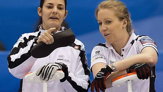 Total gelöst: Binia  Feltscher (links) und Irene Schori