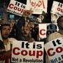Mursi-Anhänger demonstrieren gegen Ägyptens starker Mann al-Sisi