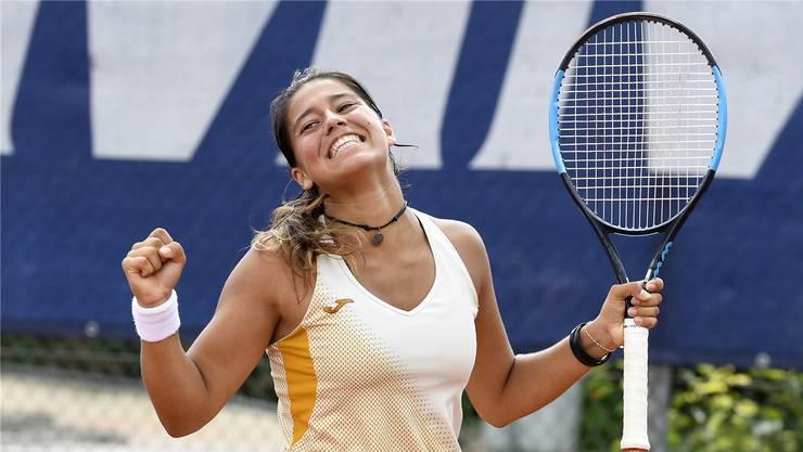 Siegerin Jessica Bouzas Maneiro aus Spanien.