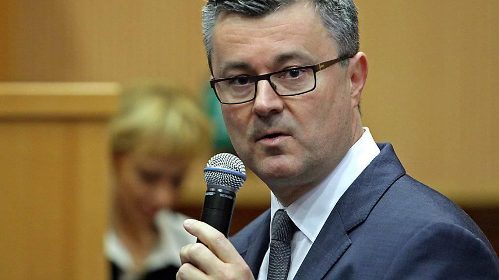 Der kroatischen Regierungschef Tihomir Oreskovic droht ein Misstrauensvotum. (Archiv)
