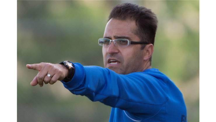 Aziz Sayilir ist seit einem halben jahr Trainer der Old Boys.