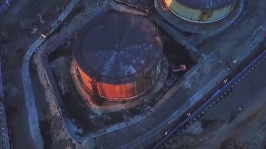 Russland will nach Ölleck im Kraftwerk Umweltschäden eindämmen