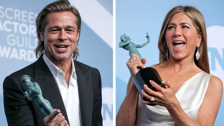 Das Ex-Ehepaar Brad Pitt und Jennifer Aniston lassen die Gerüchteküche brodeln beim 26. Screen Actors Guild Award (SAG) in Los Angeles.