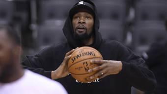 Streift Kevin Durant, eine Stammkraft der Golden State Warriors, im fünften Spiel den Trainingsanzug ab?
