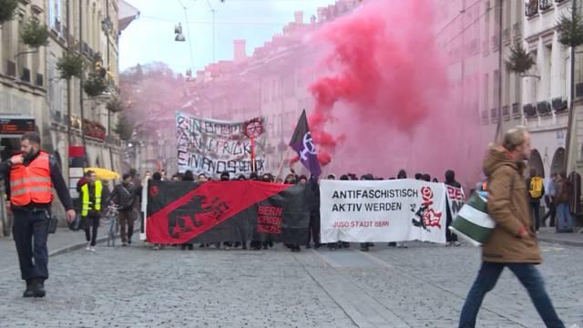 """Mit dem Motto """"Bunt statt Braun"""" gegen Rechtsextremismus"""