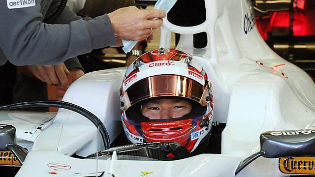 Sauber-Pilot Kamui Kobayashi.