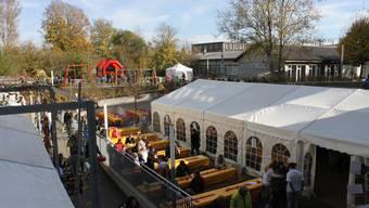 Viel los am Rodania Herbstfest in Grenchen