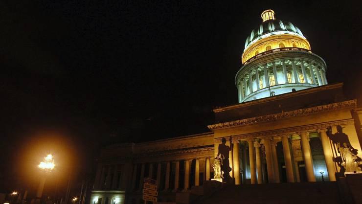 Fast wie das Kapitol in Washington - Das ist aber das Kapitol von Kuba in Havanna