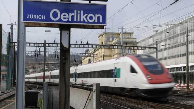 Im Bahnhof Oerlikon wird im Zuge des Projekts Durchmesserlinie viel gebaut.