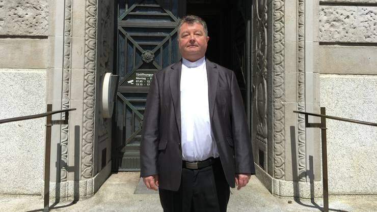 Pfarrer Josef Karber: «Ich habe einen Menschen gesehen, der Hilfe braucht.»