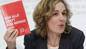 SP-Fraktionschefin Ursula Wyss