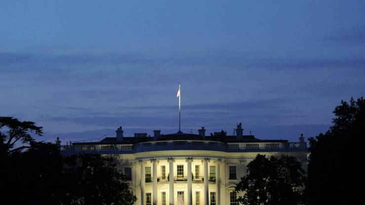 Ans Weisse Haus in Washington adressiert: Der Secret Service fing verdächtige Post für US-Präsident Donald Trump ab. (Archivbild)
