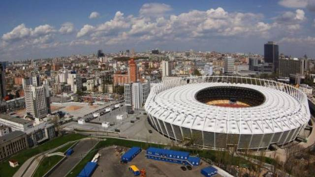 Die Ukraine macht einen Monat vor der Fussball-Europameisterschaft einen miserablen Eindruck. Foto: Sergey Dolzhenko - EPA