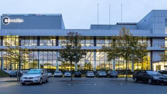 Das AZ-Medienzentrum in der Telli in Aarau.