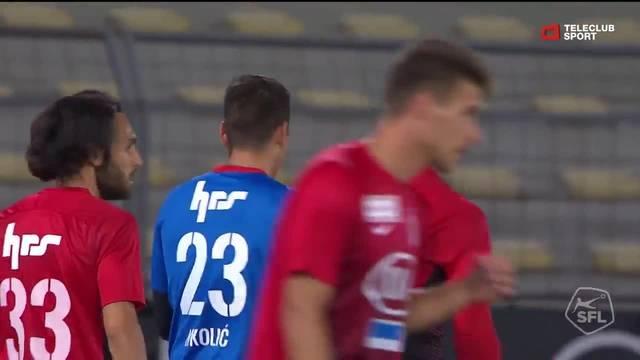 Challenge League, 2018/19, 7. Runde, FC Lausanne – FC Aarau, 1:1 Gonçalo Brandão